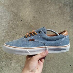 Vans Authentic Denim Low Top Sneakers Shoes